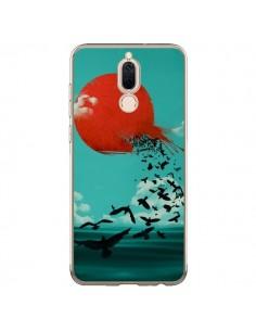 Coque Huawei Mate 10 Lite Soleil Oiseaux Mer - Jay Fleck