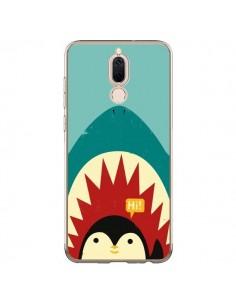 Coque Huawei Mate 10 Lite Pingouin Requin - Jay Fleck