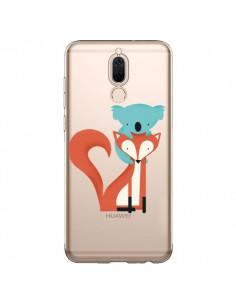 Coque Huawei Mate 10 Lite Renard et Koala Love Transparente - Jay Fleck