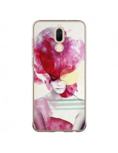 Coque Huawei Mate 10 Lite Bright Pink Portrait Femme - Jenny Liz Rome
