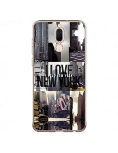 Coque Huawei Mate 10 Lite I love New Yorck City noir - Javier Martinez