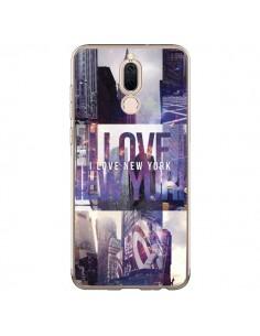 Coque Huawei Mate 10 Lite I love New Yorck City violet - Javier Martinez