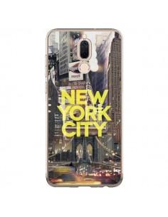 Coque Huawei Mate 10 Lite New York City Jaune - Javier Martinez