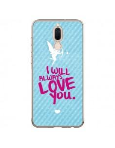 Coque Huawei Mate 10 Lite I will always love you Cupidon - Javier Martinez