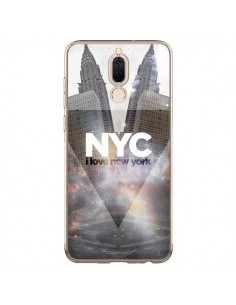 Coque Huawei Mate 10 Lite I Love New York City Gris - Javier Martinez