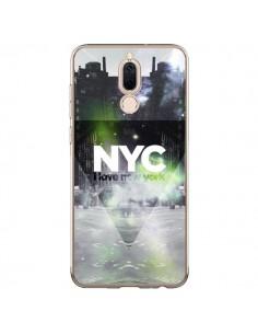 Coque Huawei Mate 10 Lite I Love New York City Vert - Javier Martinez
