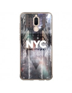 Coque Huawei Mate 10 Lite I Love New York City Violet - Javier Martinez