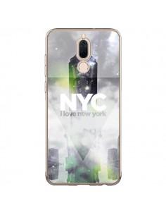 Coque Huawei Mate 10 Lite I Love New York City Gris Vert - Javier Martinez