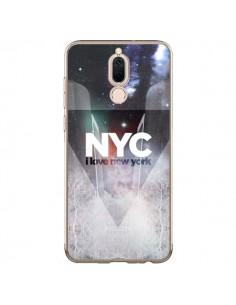 Coque Huawei Mate 10 Lite I Love New York City Bleu - Javier Martinez