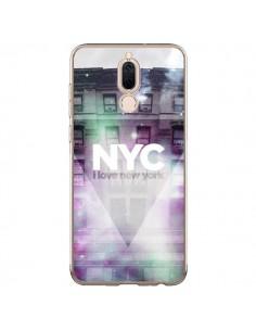 Coque Huawei Mate 10 Lite I Love New York City Violet Vert - Javier Martinez