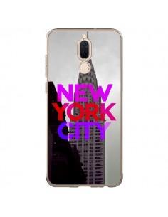 Coque Huawei Mate 10 Lite New York City Rose Rouge - Javier Martinez