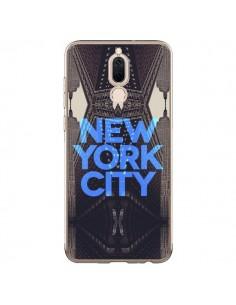 Coque Huawei Mate 10 Lite New York City Bleu - Javier Martinez