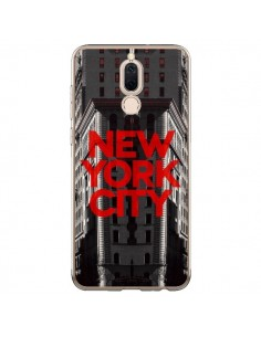 Coque Huawei Mate 10 Lite New York City Rouge - Javier Martinez