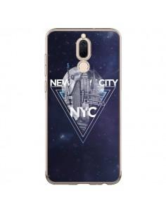 Coque Huawei Mate 10 Lite New York City Triangle Bleu - Javier Martinez