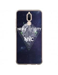 Coque Huawei Mate 10 Lite New York City Triangle Vert - Javier Martinez