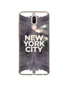 Coque Huawei Mate 10 Lite New York City Gris - Javier Martinez