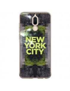 Coque Huawei Mate 10 Lite New York City Vert - Javier Martinez