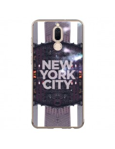 Coque Huawei Mate 10 Lite New York City Violet - Javier Martinez