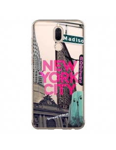 Coque Huawei Mate 10 Lite New Yorck City NYC Transparente - Javier Martinez