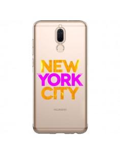 Coque Huawei Mate 10 Lite New York City NYC Orange Rose Transparente - Javier Martinez