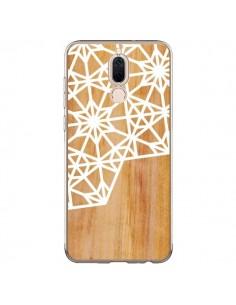 Coque Huawei Mate 10 Lite Frozen Stars Etoile Bois Azteque Aztec Tribal - Jenny Mhairi
