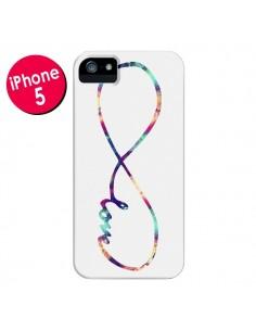 Coque Love Forever Infini Couleur pour iPhone 5 et 5S - Eleaxart