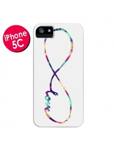Coque Love Forever Infini Couleur pour iPhone 5C - Eleaxart