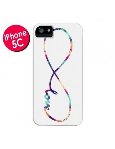 Coque Love Forever Infini Couleur pour iPhone 5C - Eleaxart