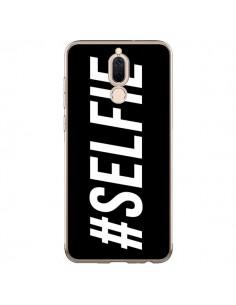 Coque Huawei Mate 10 Lite Hashtag Selfie Noir Horizontal - Jonathan Perez