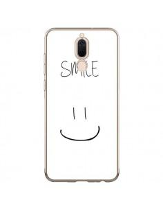 Coque Huawei Mate 10 Lite Smile Souriez en Blanc - Jonathan Perez
