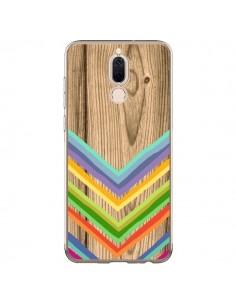 Coque Huawei Mate 10 Lite Tribal Azteque Bois Wood - Jonathan Perez