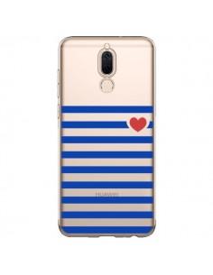 Coque Huawei Mate 10 Lite Mariniere Coeur Love Transparente - Jonathan Perez