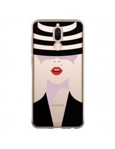 Coque Huawei Mate 10 Lite Femme Chapeau Hat Lady Transparente - Dricia Do