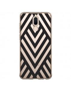 Coque Huawei Mate 10 Lite Geometric Azteque Noir Transparente - Dricia Do