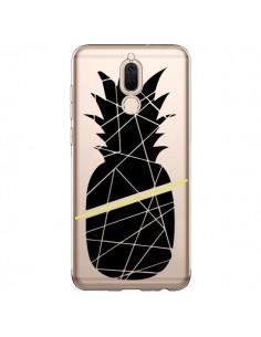 Coque Huawei Mate 10 Lite Ananas Noir Transparente - Koura-Rosy Kane