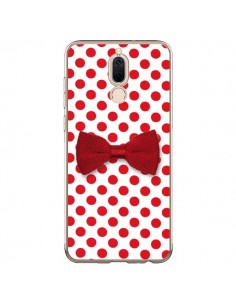 Coque Huawei Mate 10 Lite Noeud Papillon Rouge Girly Bow Tie - Laetitia