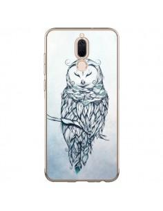 Coque Huawei Mate 10 Lite Snow Owl Chouette Hibou Neige - LouJah