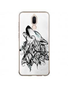 Coque Huawei Mate 10 Lite The Wolf Loup Noir - LouJah