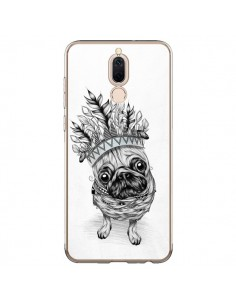 Coque Huawei Mate 10 Lite Indian Dog Chien Indien Chef Couronne - LouJah
