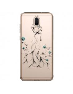 Coque Huawei Mate 10 Lite Princesse Fleurs Transparente - LouJah