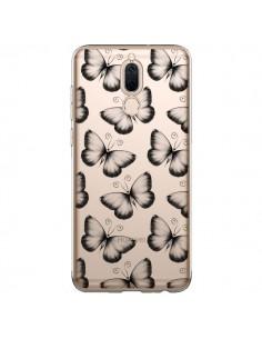 Coque Huawei Mate 10 Lite Papillons Transparente Transparente - LouJah