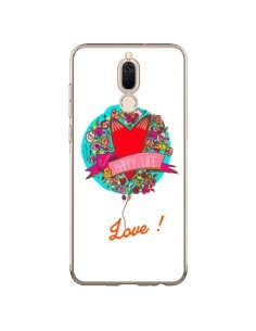 Coque Huawei Mate 10 Lite Love Happy Life - Leellouebrigitte