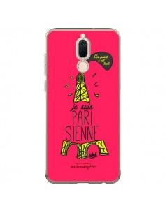 Coque Huawei Mate 10 Lite Je suis Parisienne La Tour Eiffel Rose - Leellouebrigitte