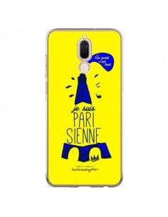 Coque Huawei Mate 10 Lite Je suis Parisienne La Tour Eiffel Jaune - Leellouebrigitte