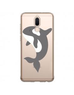Coque Huawei Mate 10 Lite Orque Orca Ocean Transparente - Petit Griffin