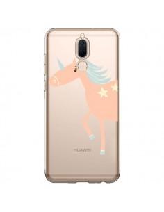 Coque Huawei Mate 10 Lite Licorne Unicorn Rose Transparente - Petit Griffin