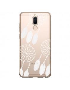 Coque Huawei Mate 10 Lite Attrape Rêves Blanc Dreamcatcher Triple Transparente - Petit Griffin