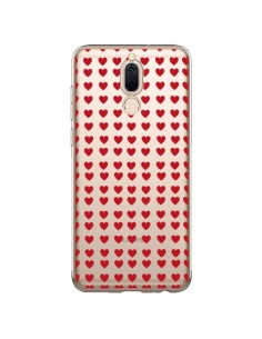 Coque Huawei Mate 10 Lite Coeurs Heart Love Amour Red Transparente - Petit Griffin