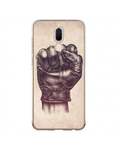 Coque Huawei Mate 10 Lite Fight Poing Cuir - Lassana