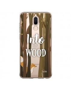 Coque Huawei Mate 10 Lite Into The Wild Renard Bois Transparente - Lolo Santo